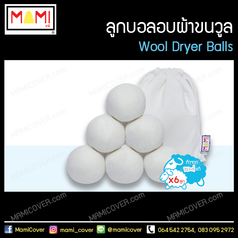 Wool Dryer Balls Cover